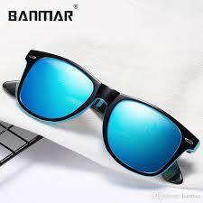 <b>BANMAR Men Polarized Sunglasses</b> Retro Luxury Brand Designer ...