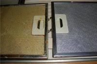 <b>Алюминиевый фильтр</b> для вытяжки - как очистить от почернения?
