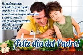 Resultado de imagen para imagenes del dia del padre con mensajes bonitos
