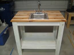 kitchen bar sink combo challenger cabinets grill