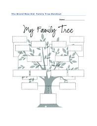 family tree activity for the brand new kid by katie couric family tree activity for the brand new kid by katie couric students fill in s