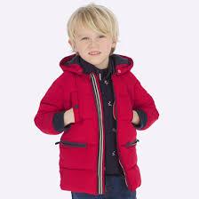 Стеганая <b>куртка для мальчика</b> Красный - <b>Майорал</b>