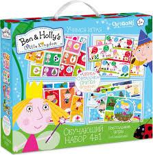 Ben & Holly's <b>Обучающий набор 4 в 1</b> — купить в интернет ...