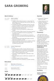Cv Examples Uk Team Leader Job