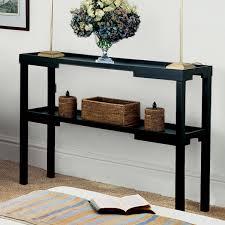 kyoto narrow console table wood  oka