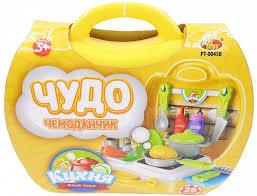 Игровой набор <b>Abtoys Чудо</b>-<b>чемоданчик</b> - Кухня, 26 предметов