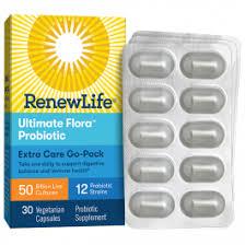 <b>Ultimate</b> Flora <b>Extra Care</b> Probiotic <b>Go</b>-<b>Pack</b> 50 Billion