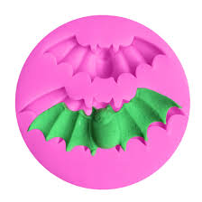 Kitchen Pastry Tools 1PC <b>Halloween</b> Bats Shape <b>Silicone Cake</b> ...