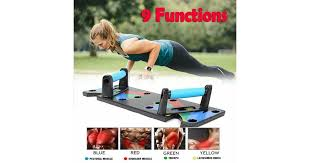 <b>9 in 1</b>(Multi-function) <b>Push</b> Up Rack Board System Body Building ...