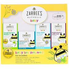 Zarbee's, <b>Naturals</b>, <b>Baby Bee Prepared</b> Kit, Cough Syrup + Mucus ...