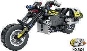 """<b>Конструктор QiHui Technics</b> """"<b>Мотоцикл</b>"""" (инерционная модель ..."""