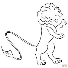Small Picture Angry Lion coloring page Free Printable Coloring Pages
