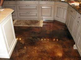 Concrete Floor Kitchen Interior Decorative Concrete Nice Kitchen Floor A