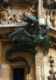 this dragon is outside of a city hall in munich germany blueberries viktualienmarkt munich visit