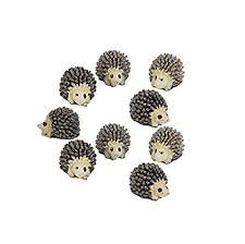 Windspeed 10pcs Miniature Hedgehog Gardening <b>Potted</b> ...