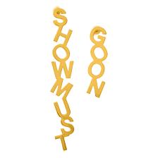 <b>Позолоченные серьги Show</b> must go on - купить за 6 500 руб. в ...