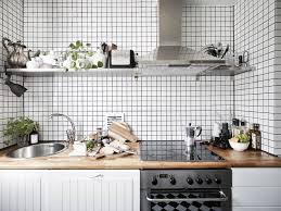 white tiles color backsplash kitchen for swedeish kitchen design ideas with kitchen cabinetry and with butcher awesome awesome scandinavian ideas