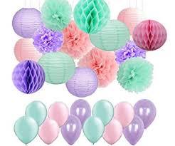<b>Mermaid</b> Party Decor/Under The Sea Party Supplies <b>45pcs</b> ...