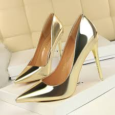 Woman shoes high heels <b>sexy pointed toe</b> shallow pumps women ...