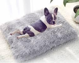 <b>Long Plush Dog Bed</b> Pet Cushion. – Pamperedpooch