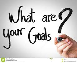 creative composition the message what are your goals stock creative composition the message what are your goals