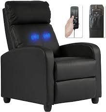 Recliner Chair for Living Room Massage Recliner ... - Amazon.com