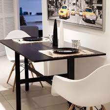 black kitchen dining sets: modern small black kitchen table on minimalist kitchen design