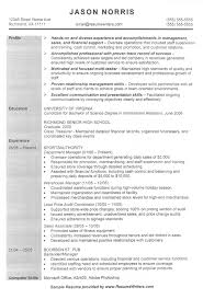 resume example retail manager professional emirates flight example resume for retail