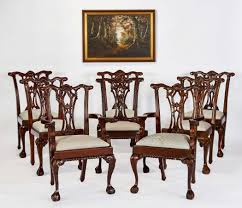 apollo sheesham dining set img foot chippendale style dining chairs eight mahogany chairs foot chippe