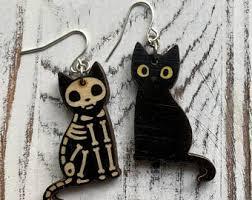 <b>Gothic cat</b> jewelry | Etsy