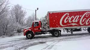 coca cola truck stuck in the snow johnson city tn coca cola truck stuck in the snow johnson city tn