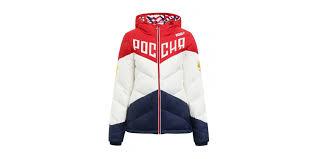 <b>Куртку пуховую</b> с капюшоном и аппликацией <b>Bosco</b> Sport узор ...