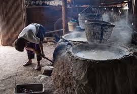 why you should be using fleur de sel instead of regular table salt the salt making process in bo kluea nan province thailand image by takeaway