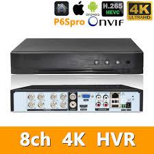 5in1 Real <b>H</b>.<b>265</b> 4ch 8M N/4K <b>HVR</b> Security <b>CCTV</b> hybrid video ...
