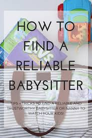how to reliable trustworthy childcare in your area much i m sharing luvs in my life as part of a luvs sponsored series for socialstars