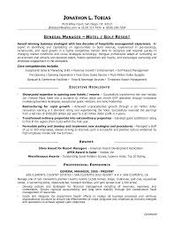 sample cv general manager resume example sample cv general manager best general manager resume example livecareer sample cv of hotel general manager
