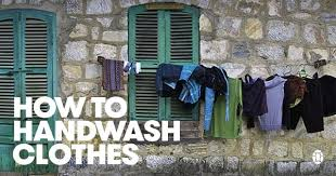A Guide to <b>Hand Washing Clothes</b> While Traveling | Tortuga ...