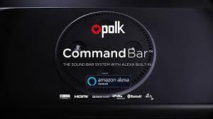 Command <b>Bar</b> | Sound <b>Bar</b> | Polk Audio