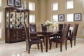 Dark Dining Room Set Excellent Interior Furniture Dining Room Decorating Design Ideas