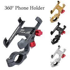 1Pc 360° <b>Aluminum Alloy</b> Handlebar Mount <b>Phone</b> Holder for ...