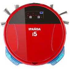 <b>Робот</b>-<b>пылесос Panda i5</b> красный: купить за 17139 руб - цена ...