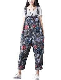 Mordenmiss Women's New Jeans Jumpsuit Fashion ... - Amazon.com