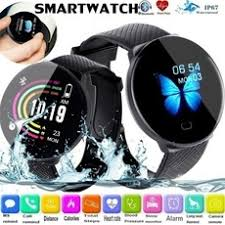 <b>D19 Smart Watch Women</b> Heart Rate Blood Pressure Health ...