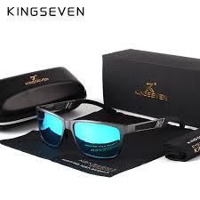 KINGSEVEN <b>Men Polarized Sunglasses</b> Aluminum Magnesium Sun ...