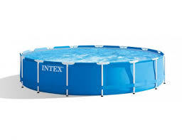 <b>Бассейн каркасный Intex</b> Metal Frame <b>Pool</b>, 457х122 см + фильтр ...