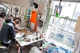 Workspaces + Tools | Illustration | Academics | RISD
