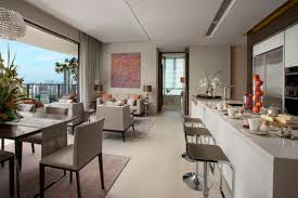 living area with gourmet kitchen concept ardmore 3 fung shui good