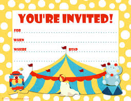 clip art invitations templates clipart clipart kid click on the circus party invite template to see it full size and