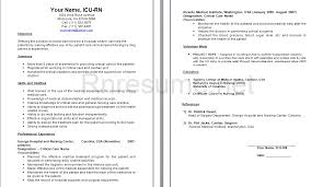 Icu Nurse Resume Resumes Sample New Grad Nursing Resume Examples ... Registered Nurse Resumes Sample Resume For Registered Nurse Position . nursing resume ...
