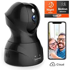 <b>Wireless Camera</b>, <b>1080P HD WiFi</b> Pet <b>Camera</b> Baby <b>Monitor</b>, Pan ...